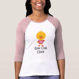 Glee Club Chick Raglan T shirt