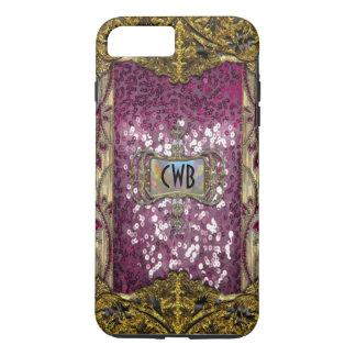 Gleemshore Grace Elegant Chic Monogram iPhone 8 Plus/7 Plus Case
