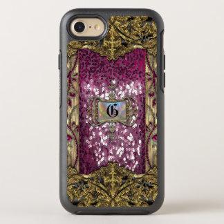 Gleemshore Grace  Girly 6/6s Monogram OtterBox Symmetry iPhone 8/7 Case