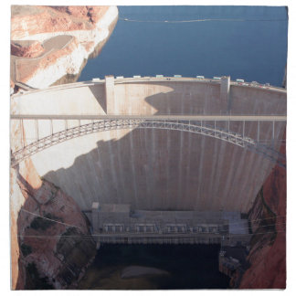 Glen Canyon Dam and Bridge, Arizona Napkin