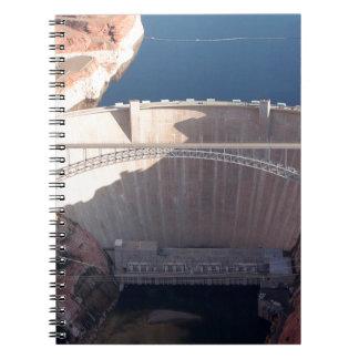 Glen Canyon Dam and Bridge, Arizona Spiral Notebook