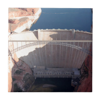 Glen Canyon Dam and Bridge, Arizona Tile