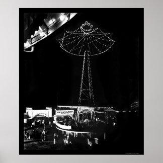 Glen Echo Amusement Park 1922 Poster