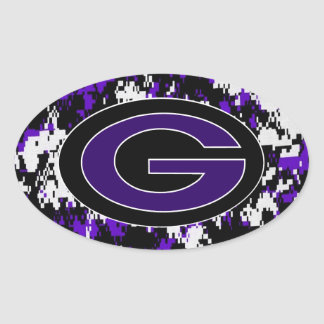 Glen Este High School  Cincinnati ohio Oval Sticker