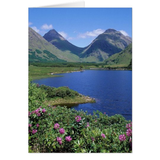 Glen Etive Scotland Card