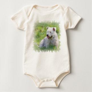 Glen of Imaal Terrier dog unisex infant creeper