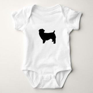 glen of imaal terrier silo baby bodysuit