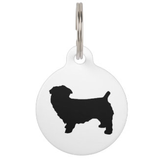 glen of imaal terrier silo pet name tag