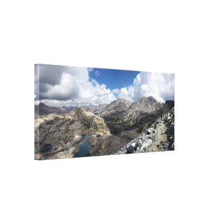 Glen Pass over Rae Lakes - John Muir Trail Canvas Print