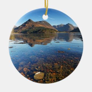 Glencoe and Ballachulish, Scotland Ceramic Ornament
