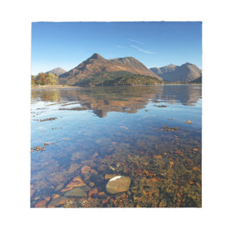Glencoe and Ballachulish, Scotland Notepad