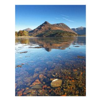 Glencoe and Ballachulish, Scotland Personalized Letterhead