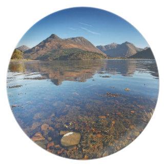 Glencoe and Ballachulish, Scotland Plate