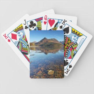 Glencoe and Ballachulish, Scotland Poker Deck