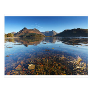 Glencoe and Ballachulish, Scotland Postcard