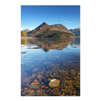Glencoe and Ballachulish, Scotland Stationery Design
