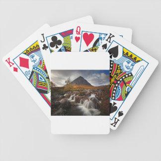 Glencoe, Buchaille Etive Mor, Scotland Poker Deck