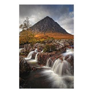 Glencoe, Buchaille Etive Mor, Scotland Stationery