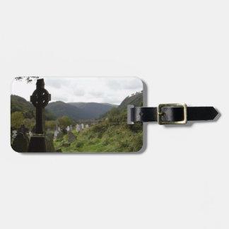 Glendalough Celtic Cross Luggage Tag