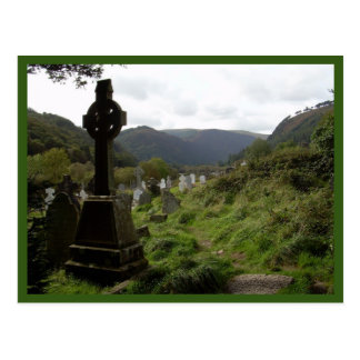 Glendalough (Celtic Cross) Postcard