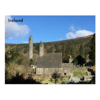 Glendalough, Co. Wicklow, Ireland Postcard