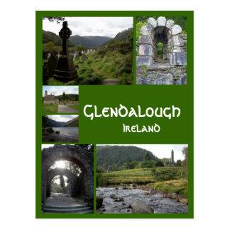 Glendalough Collage Postcard