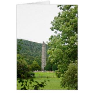 Glendalough Round Tower Card