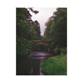 Glendalough Stone Arch Bridge Canvas
