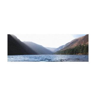 Glendalough - upper lake canvas print