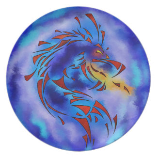Glenfbach V1 - mystic dragon Party Plates