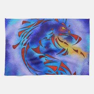 Glenfbach V1 - mystic dragon Towel