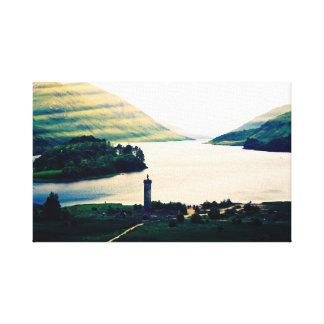 Glenfinnan Monument Canvas Print