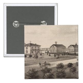 Glenhaven and Pleasant View Kansas Pin
