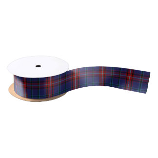 Glenn Clan Tartan Plaid Ribbon Satin Ribbon