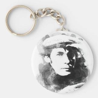 Glenn Gould Basic Round Button Keychain