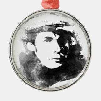 Glenn Gould Silver-Colored Round Ornament
