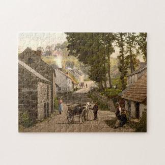 Glenoe Village, County Antrim, Northern Ireland Jigsaw Puzzle