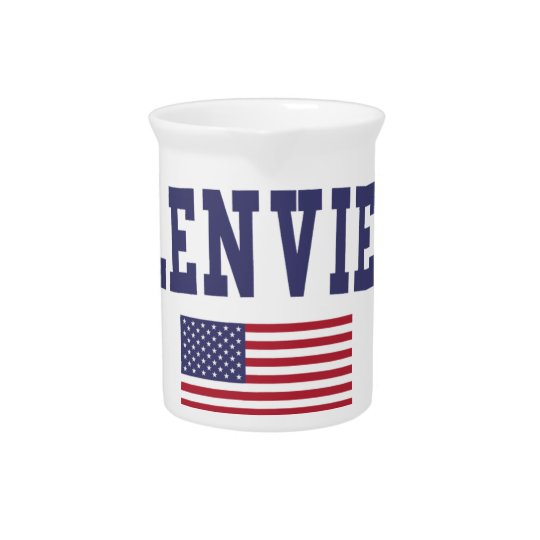 Glenview US Flag Pitcher