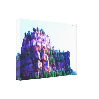 Glenwood Canyon, Colorado Canvas Print