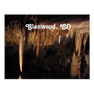 Glenwood Caverns Postcard