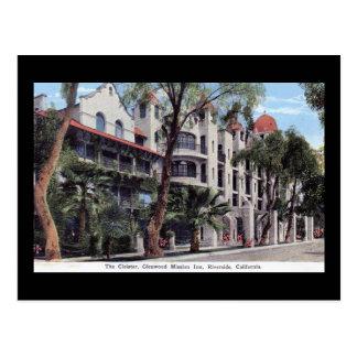 Glenwood Mission Inn, Riverside CA Vintage Postcard