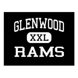 Glenwood - Rams - Senior - Glenwood Iowa Postcard