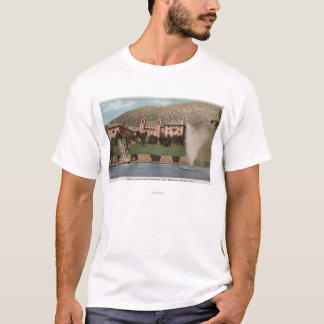 Glenwood Springs, CO - View of Hotel CO & Pool T-Shirt