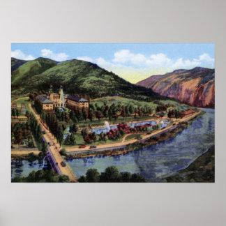 Glenwood Springs Colorado Hotel Colorado Mineral S Poster