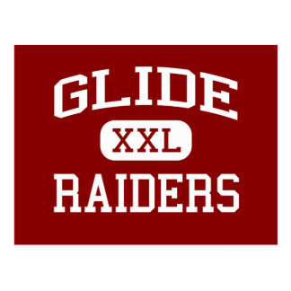 Glide - Raiders - Middle School - Glide Oregon Postcard