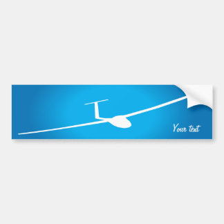 Glider Bumper Sticker