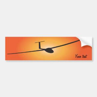 Glider Bumper Sticker