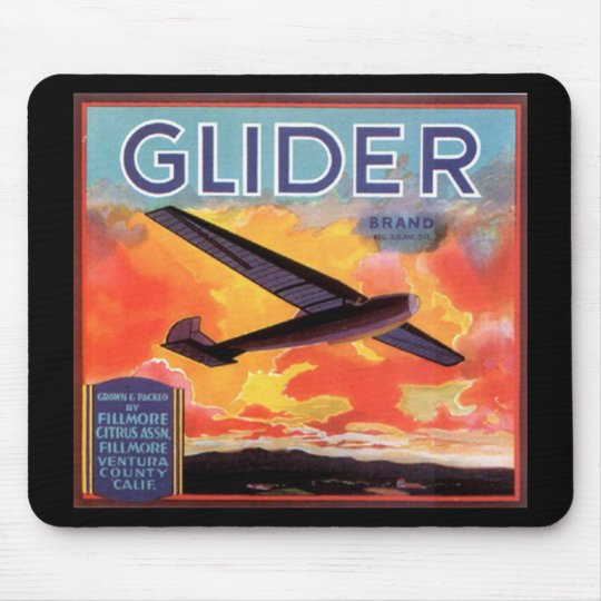 glider citrus mouse pad