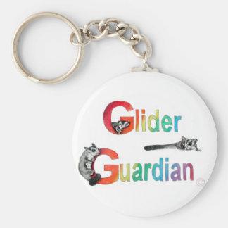 Glider Guardian Apparel Basic Round Button Keychain