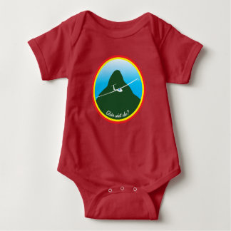 Glider - What else? Baby Bodysuit